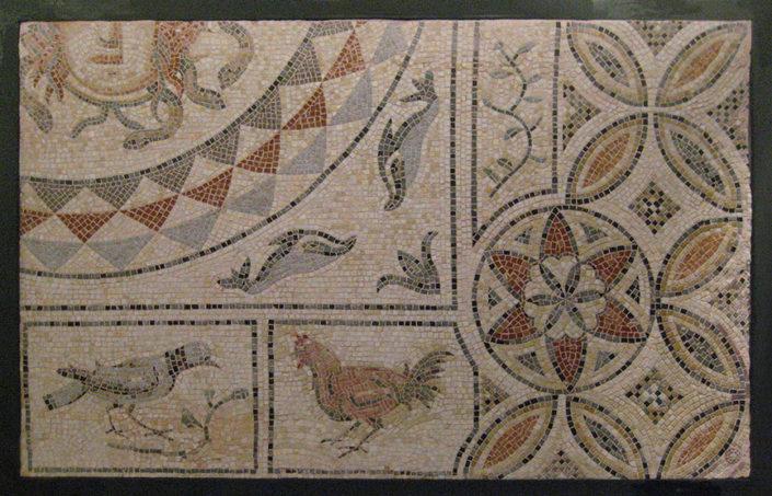 mosaic in Alia Club hotel in Hersonissos, Crete