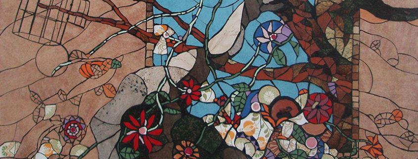 mosaic, Syros, Cyclades