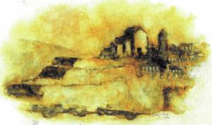monastery of st Francis on Piattaforma Rovescia
