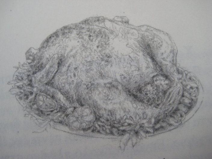 roasted chicken, 1/11